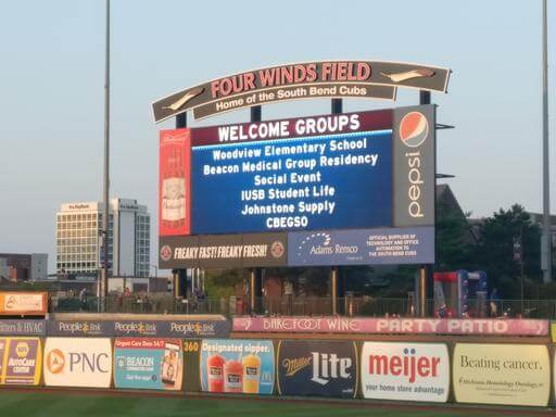 CBEGSO on Four Winds Field Sign