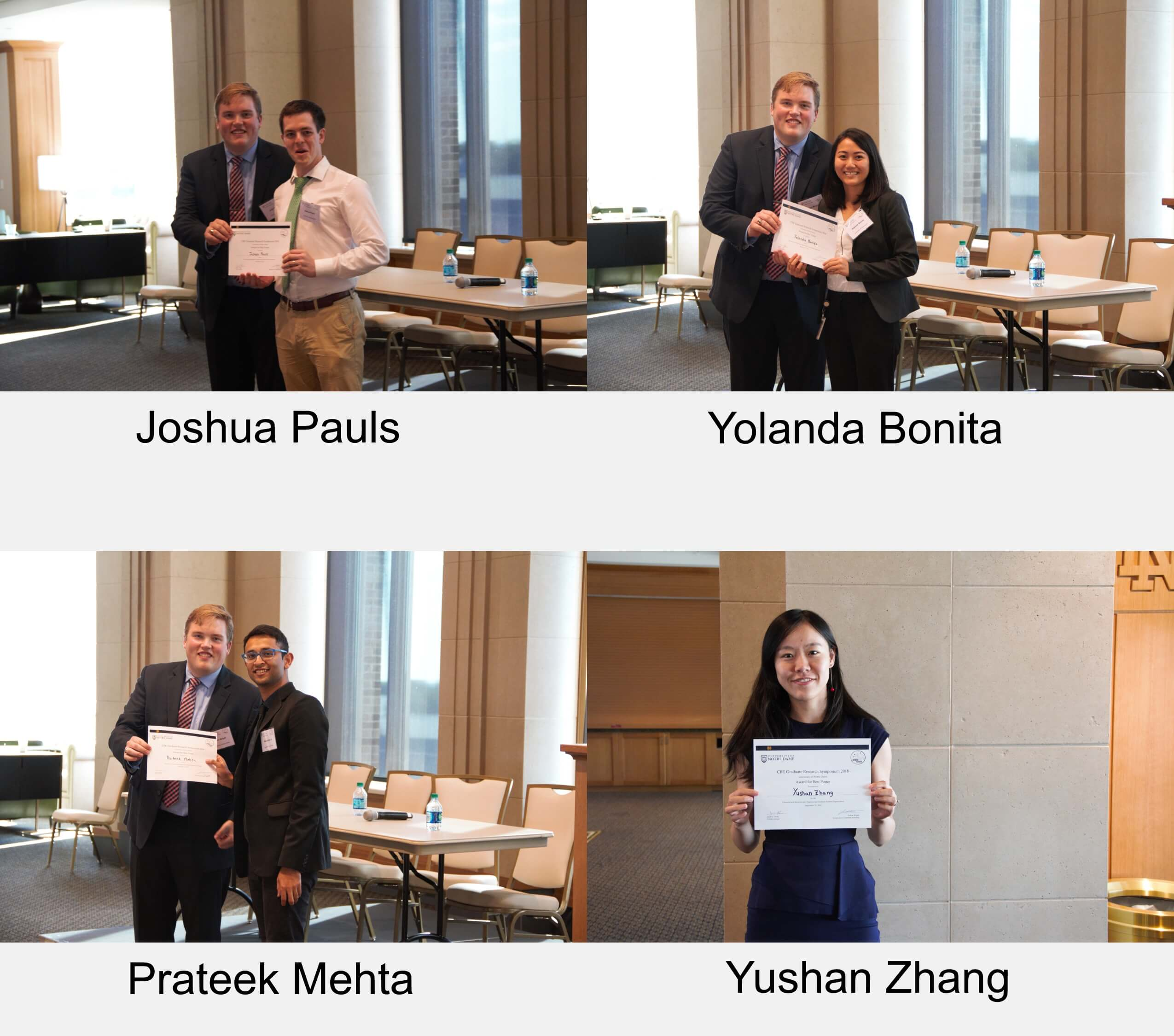Symposium Poster Winners Background